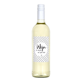 wijnetiket - wijn is altijd een goed idee