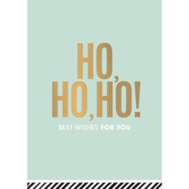 kaart ho, ho ho  - best wishes for you
