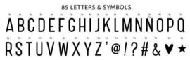 lightbox letterpack 85 basic letter pack
