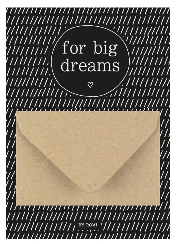 geldkaart for big dreams