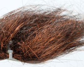Angel Hair - dark copper brown