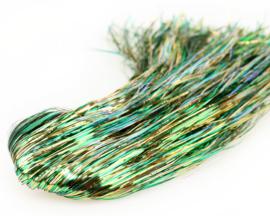 Tinsel Blend Hair - golden green