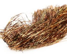 Tinsel Blend Hair - deep gold