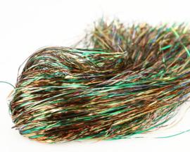 Tinsel Beldn Hair - copper peacock