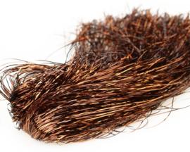 Tinsel Blend Hair - copper brown