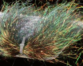 Saltwater Angel Hair - brown peacock