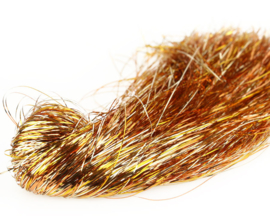 Tinsel Blend Hair - hot gold