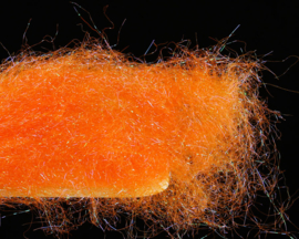 Fine UV Ice Dubbing - orange
