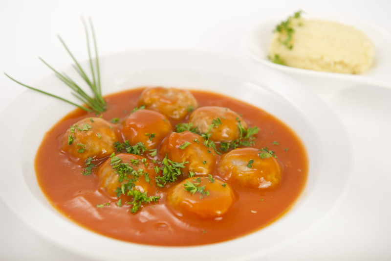 Portie Balletjes in tomatensaus