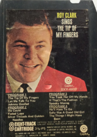 Roy Clark - The tip of my fingers - Capitol 8XY - 4600