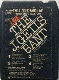 The J. Geils Band live - Blow your face out