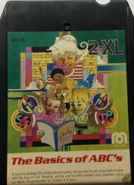 2-XL 8-track tape The Basics Of ABC's  Mego Corp
