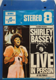 "Shirley Bassey - Live In Person ""At The Pigalle"" - Columbia 336.05386"