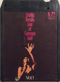 Shirley Bassey  Live at Carnegie  Hall  Vol 1- U -8514