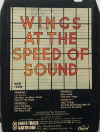 Paul McCartney and Wings - wings at The Speed Of Sound - Capitol 8XW-11525