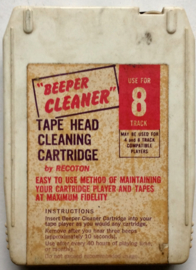 Beeper Cleaner 8-track Tape Head Cleaning tape