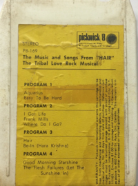 Hair -   The music and songs From Hair - Pickwick P8-169