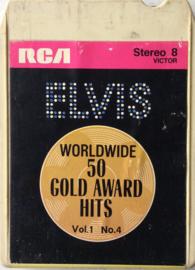 Elvis Presley - Worldwide 50 gold award hits VOL 1 NO.4 - RCA P8S -1776