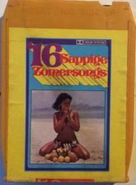 Various Artists -  16 Sappige  zomersongs -Omega International 8 OM 777.015