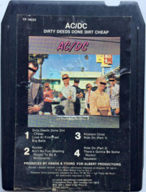 AC/DC - Dirty deeds done dirty cheap- Atlantic TP 16033