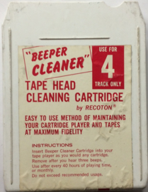 Beeper Cleaner 4-track Tape Head Cleaning tape