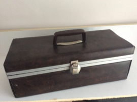 8-track opberg koffer - 8-track case - 24 tapes BRUIN