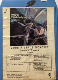 Various ‎– 2001 - A Space Odyssey  Soundtrack - GRT C 8130-13
