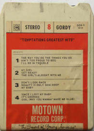 Temptations - Greatest Hits- Gordy GOR-8-1919