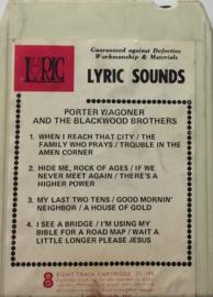 Porter Wagoner & The Blackwood Brothers -  Lyric G-5004