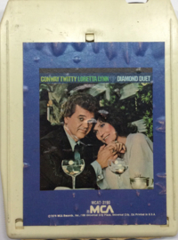 Conway Twitty & Loretta Lynn - Diamond duet - MCA MCAT 3190