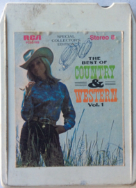 Various Artists - The Best Of Country & Western Vol 1 - RCA P8S-569 -