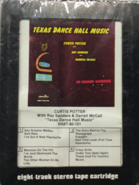 Curtis Potter With Ray Sanders & Darrell McCall - Texas Dance Hall Music - Hillside HS8T-80-101 SEALED