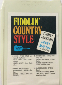 Tommy Jackson & Benny Martin & Others - Fiddlin' Country Style - CR-8T-103