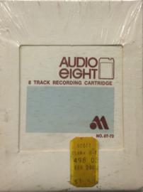 Blank Recordable 8-track tape 72 minutes