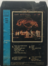 Commodores - Live -  Motown  M9 894 NT