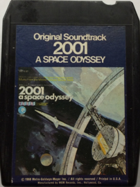 Various ‎– 2001 - A Space Odyssey (Music From The Motion Picture Soundtrack) - MGM Records ‎M8H-13