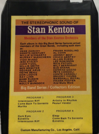 Members Of The Stan Kenton Orchestra ‎– The Stereophonic Sound Of Stan Kenton - Bright Orange ‎– BO 8705
