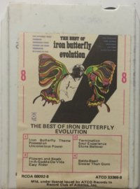 Iron Butterfly ‎– The Best Of Iron Butterfly Evolution -ATCO Records ‎ 33369-8