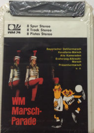 WM Marsch Parade  - Welt Match / World Cup '74 - WM74 WM8S 78014 SEALED