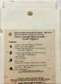 Elvis Presley- You'll never walk alone -  C8S-7012 Camden