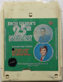 Various Artists - Dick Clark's 25th Anniversary collection 50's 60's 70's- 3tapes  - NU-9428