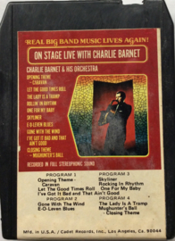 Charlie Barnet & His Orchestra - On Stage Live With Charlie Barnet - BQ- 8719