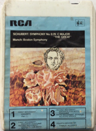Schubert & Boston Symphony Orchestra - Symphony NO.9 in C Major - RCA  MC8 515