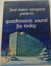 Ford Motor Company presents Quadrasonic Sound for today - Sealed DAT2-0249