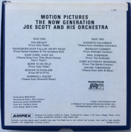 Joe Scott & His Orc hestra - The NOW Generation - Mainsttream L 301 7 1/2 IPS