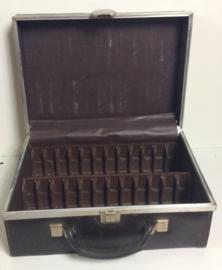 8-track opberg koffer - 8-track case zwart - 24 tapes