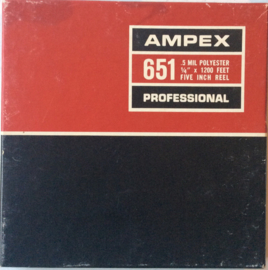 Ampex 6511200 Feet Recording Tape  - USED