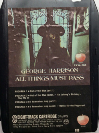 George Harrison - All things must pass  - Apple Records – 8XW-664