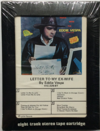 Eddie Vespa - Letter to my Ex Wife - VIC-226-8T  SEALED