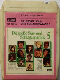 Die Grosse Star - Und Schlagerparade 5 - Decca  D8S 16736